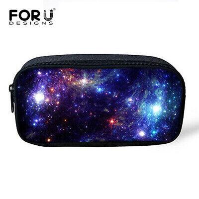 Space Galaxy Women Makeup Cosmetic Brush Travel Bag Case Pen Pencil Pouch Purse](Galaxy Makeup Bag)