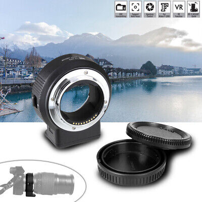 Commlite CM-ENF-E1 PRO Lens Mount Adapter for Nikon F Lens to Sony E-mount