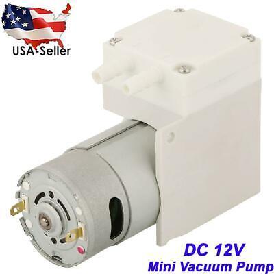 DC 12V Mini Noiseless Vacuum Pump Negative Pressure Suction Pump 70L/min -50Kpa