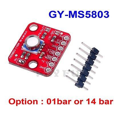 Gy-ms5803-14ba 01ba Fluid Liquid Gas Pressure Sensor Breakout Module For Arduino