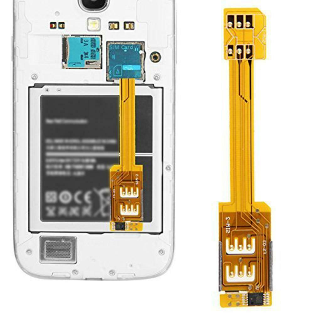 Dual SIM Card Adapter For Samsung Galaxy S5/G900 S5/G900 S L