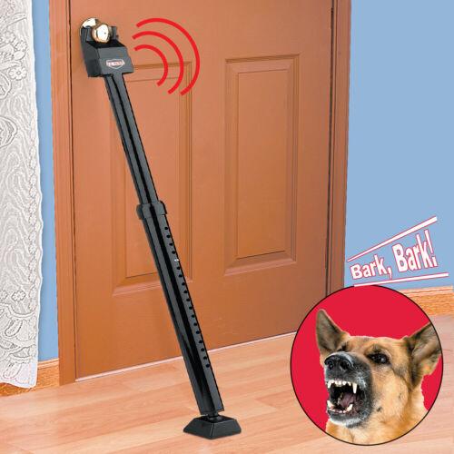 "Alarm Security Bar Non Skid 29"" to 43"" Door Adjustable Barking or Alarm sound"