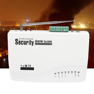 Funk GSM Alarm Anlage Türsensor Dual PIR-Einbrecher Detector Auto Dialer SMS EU ()