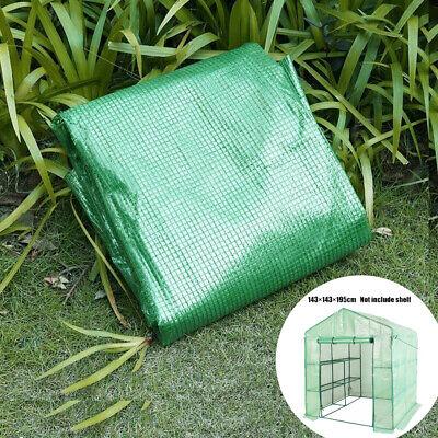 3 Tier Greenhouse Outdoor PVC Cover Plant Shelves Walk In Garden Green House