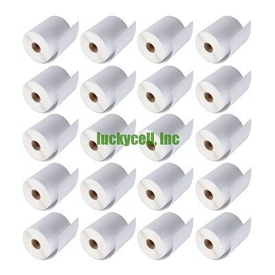4x6 Direct Thermal 20 Rolls 5000 Labels Zebra Eltron 2844 Free Fedex Shipping