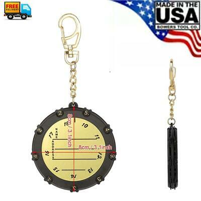 18 Holes  Score Counter With Number Wheel Stroke Shot Counter Keeper W/ Clip