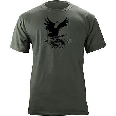 Aerospace Defense Cmd Subdued Veteran Patch T Shirt