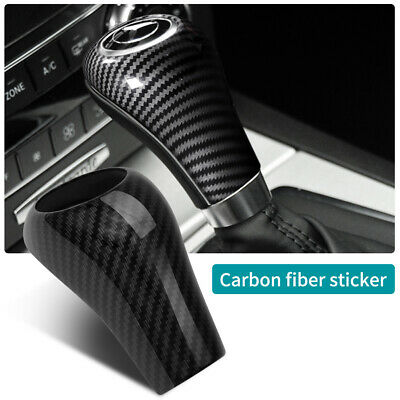 Carbon Fiber Gear Shift Knob Cover Trim For Mercedes-Benz W204 C E G GLS Class