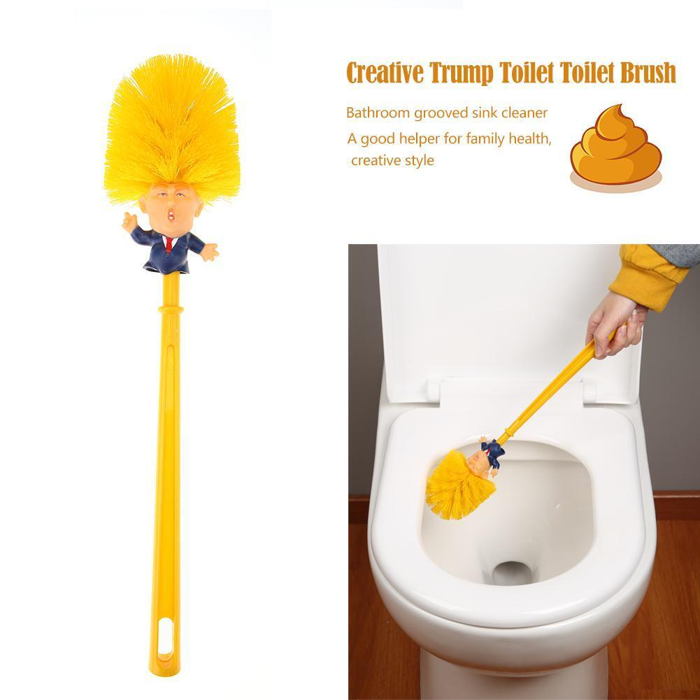 Donald Trump Toilet Brushes Funny Gift- Make Your Toilet Gre