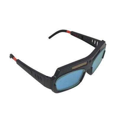 Solar Powered Auto Darkening Welding Goggle Mask Helmet Welder Glasses Eyes