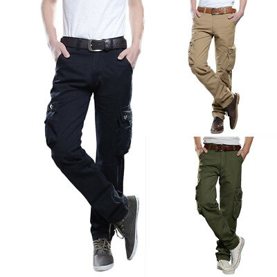 Men Tactical Pants Military Combat Trousers Cargo Pants Outdoor Sports Clothes