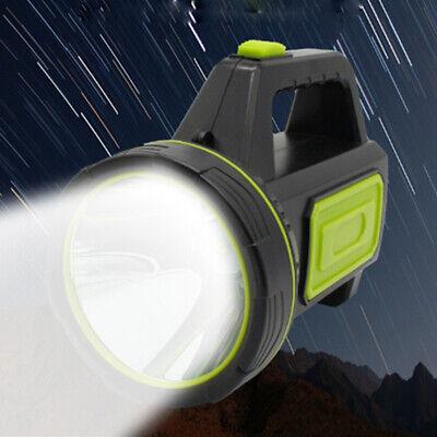 Nuevo Recargable + Impermeable Trabajo Luz Portátil Linterna Eléctrica Vela Foco