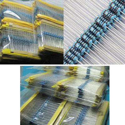 300pcs 30 Values 14w 1 Metal Film Resistance Resistors Assortment Set Kit Inno