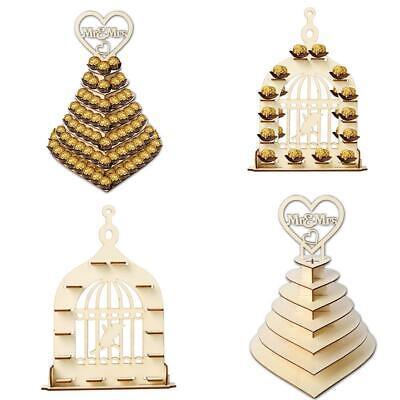 Kreative Ferrero Rocher Mr&Mrs Herz Hochzeit Ausstellungsstand Party Mittel