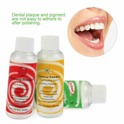 150g 3 Types Dental Cleaning Powder Prophy Mate Air Jet Polisher Cleaning Care