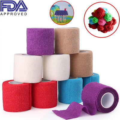 First Aid Medical Treatment Bandage Health Care Elastic Self-Adhesive Wrap FDA