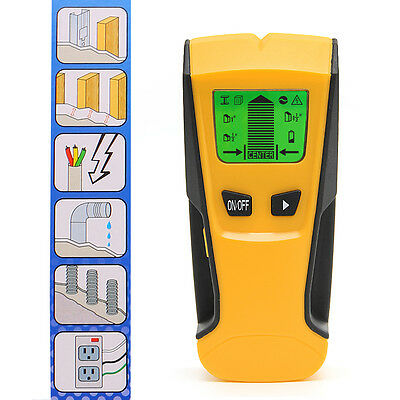 Floureon TH-210 3 in 1 Stud Center Finder Metal and AC Live Wire Detector