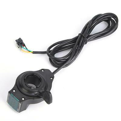 Acelerador manual de bicicleta eléctrica con interruptor de pantalla LCD de