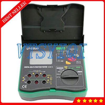 Dy5500 4 In 1 Earth Resistance Tester With Multimeter Voltmeter Phase Indicator