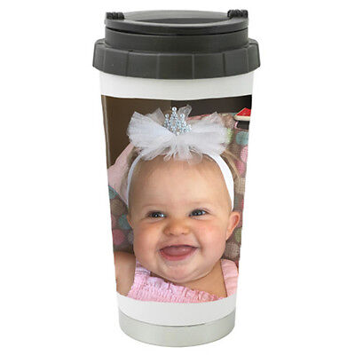Custom Personalized Stainless Steel Travel Mug/Tumbler with Your Photo/Pictures  - Personalized Photo Travel Mugs