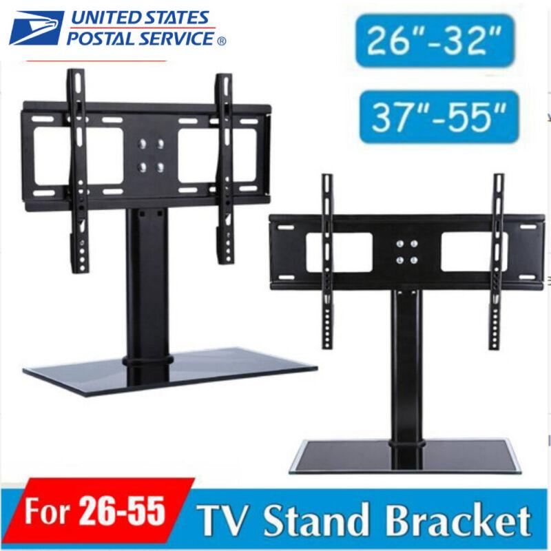 "32-63"" Black Ceiling Wall Mount TV Bracket 360°Swivel LED LCD Smart TV Stands US"