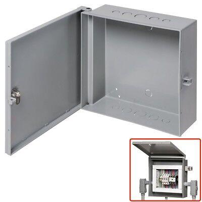 Arlington Outdoor Electric Cabinet Enclosure Box Heavy Duty Plastic 12 X 12