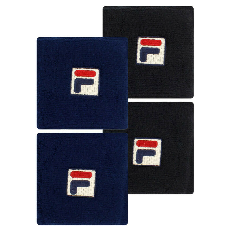 Fila Solid Tennis Wristband (   Navy )