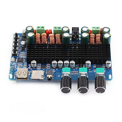 TPA3116 2x50W+100W 2.1 Channel Bluetooth Digital Subwoofer P
