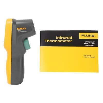 Fluke 59e Lcd Backlight Portable Ir Infrared Thermometer Temp Tester -30c350c