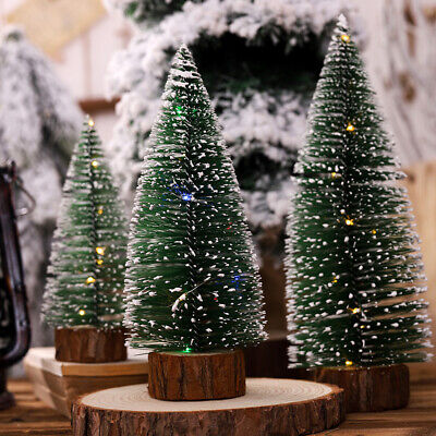 Artificial LED Lighting Christmas Tree Flash Holiday Table Hanging Ornament New ()