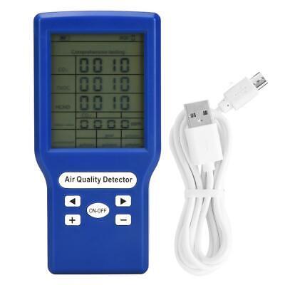 Co2 Ppm Meter Carbon Dioxide Detector Gas Analyzer Tvoc Hcho Air Quality Tester