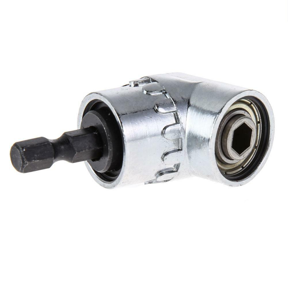 Bit Winkelschrauber Vorsatz Winkelaufsatz Winkelgetriebe Sechskant 1//4/'/' HEX