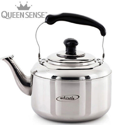 Queen Sense Stainless Steal Whistle Kettle 2L