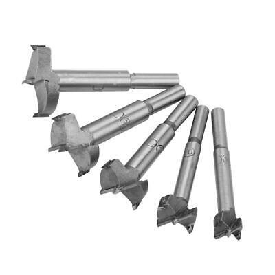 5pcs Broca Fresadora Tipo Forstner 15-35mm Juego de puntas de broca