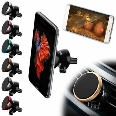 MAGNETIC CAR PHONE UNIVERSAL HOLDER AIR VENT MOUNT 360° FOR IPHONE SAMSUNG ETC