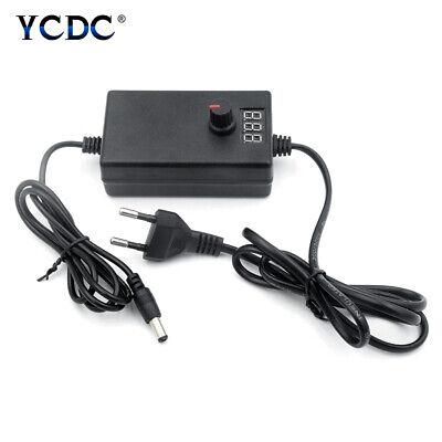 Dc 3-12v9-24v Adjustable Adapter Regulated Power Supply With Led Volt Display