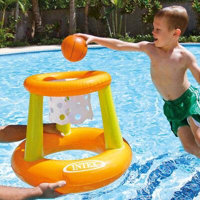 Basket Palla Canestro Gonfiabile Bambini 67x55cm Intex Mare Piscina Giardino