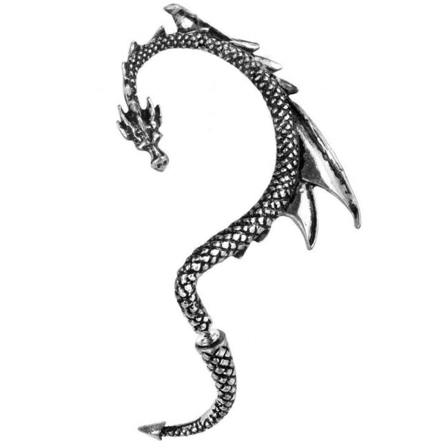 Alchemy Gothic (Metal-Wear) The Dragon's Lure (Left Ear) Ear Wrap BRAND NEW