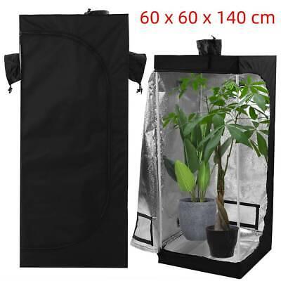 Indoor Portable Grow Tent Box 600D Hydroponics Bud Green Dark Room 60X60X140 CM