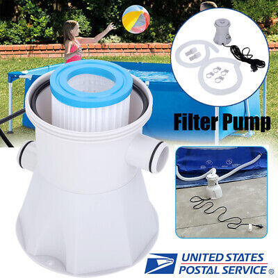 Electric Swimming Pool Filter Pump For Above Ground Pools Cleaning Tool Home