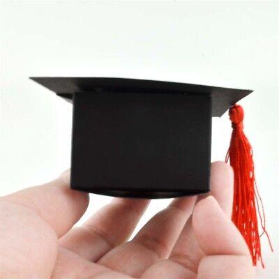 Doctorial Hat Graduation Candy Box Gift Cookie Party Wedding Favors Bags & Boxes](Graduation Hat Favor Boxes)