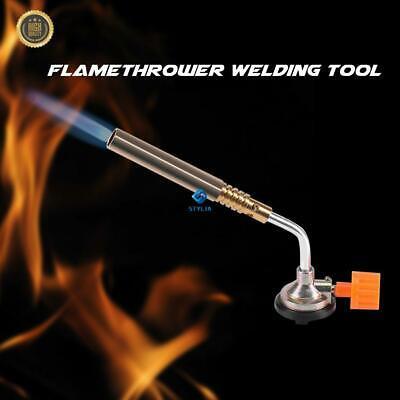 Flame Gas Gun Camping Welding BBQ Tool Ignition Welding Torch Butane Blow Torch