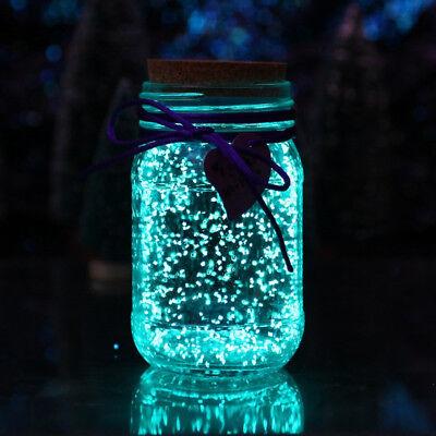 Glow in the dark 50g Luminous Party DIY Bright Paint Fluorescent Particles Prett (Diy Glow Paint)