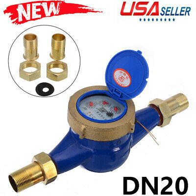 Us Dn20 34 Household Tap Water Meter Cold Water Meter For Currently Calibrate