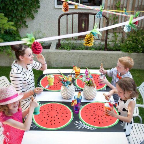 20x Watermelon Disposable Tableware Paper Napkins Hawaiian Luau Party Wedding