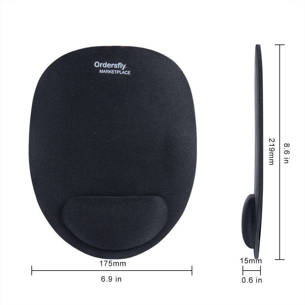 Wrist Rest Support Mousepad Mice Mat Optical Trackball for PC Laptop Computer