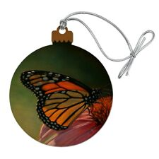Monarch Butterfly and Coneflower Wood Christmas Tree ...