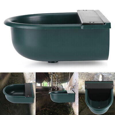 4L Automatic Animals Water Bowl Trough Horse Cow Dog Drinking Sheep Goat US Animal Drinking Bowl