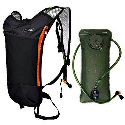 Water Bladder Bag Camelback Hiking Outdoor Running Backpack 2L Hydration Pack