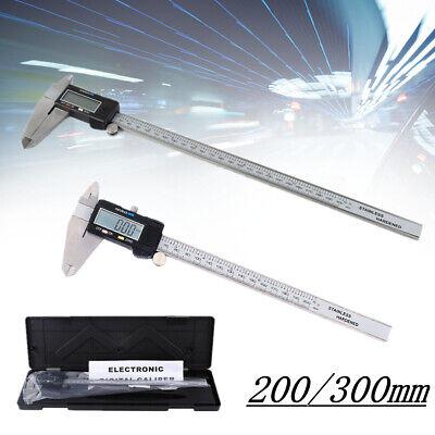 Digitale Messschieber (LCD Digital Messschieber 0-200/0-300mm Schiebelehre Schieblehre Messwerkzeug Neu)